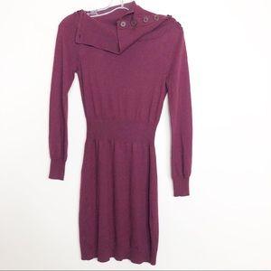 Beautiful Brooklyn Industries dress  XS burgundy
